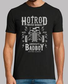 shirt voitures hot rod rockabilly rockers 1976
