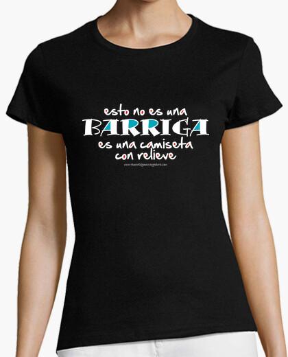 Shirt with relief (dark) t-shirt