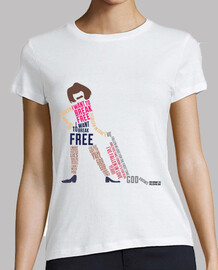 Shirt woman - i want to break free