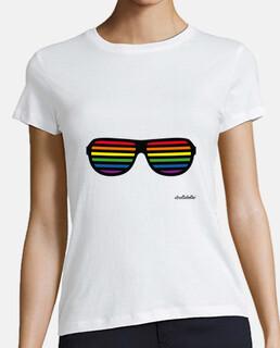 shirts pour les lesbiennes: lunettes de drapeau de la fierté gay
