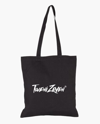 Shopper di stoffa, colore nero bag