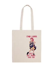 Shopping Bag - Cyndi Lauper