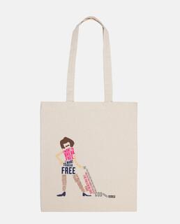 shopping bag - i want to break free