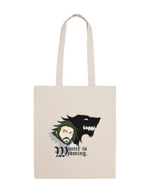 shopping bag - winter is coming