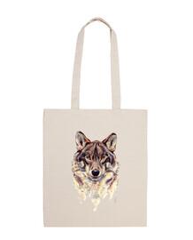 shoulder wolf