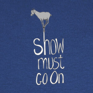 Camisetas Show must go on