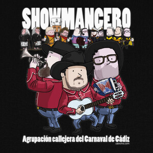 T-shirt Showmancero by Calvichi's [WEB]