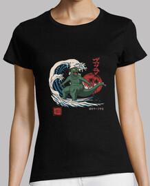 shredzilla! camisa para mujer