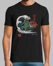 shredzilla! chemise homme