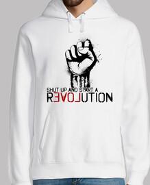 shut up and start a revolution
