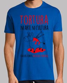 Sí a Los Toros, No A Los Toreros Hombre (Fondo Claro)