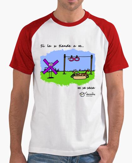 Camiseta Si la x tiende a infinito...