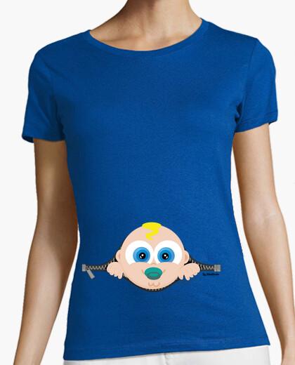 T-shirt si lascia il neonato