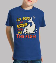 si longtemps and merci pour all les fish