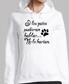 Si los gatos hablaran...