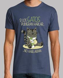 Si Los Gatos Pudieran Hablar... No Hablarían (Hombre)