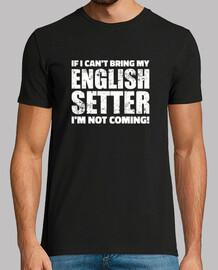 si no puedo traer mi setter inglés no v