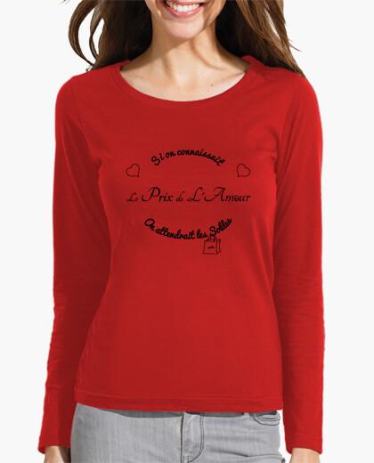 Tee-shirt Si on connaissait le prix de l'amour