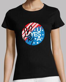 Sí símbolo de la bandera estadounidense