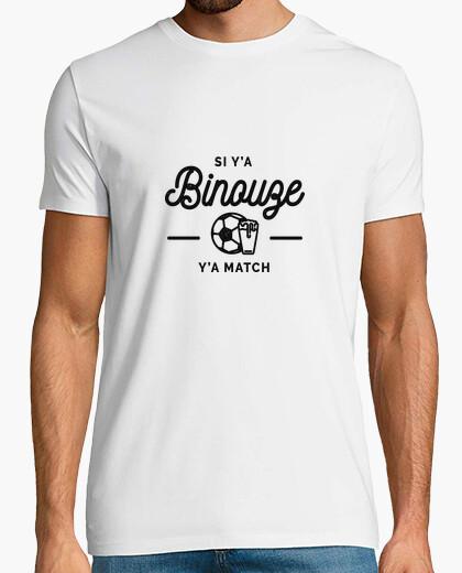 Tee-shirt Si ya bineuse ya match