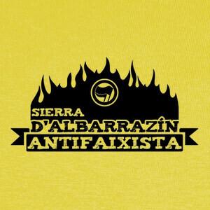 T-shirt Sierra d'Albarrazín Antifaixista