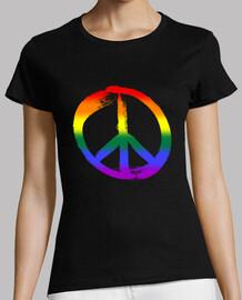 signo de la paz-arco iris-amor-colorido