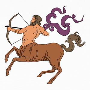 Camisetas signo del zodiaco Sagitario horoscopo