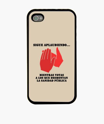 Funda iPhone Sigue aplaudiendo Negro