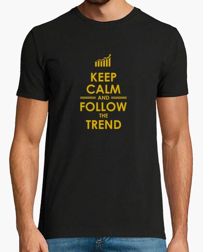 Camiseta sigue la tendencia del oro