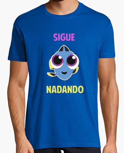 Camiseta SIGUE NADANDO