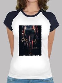 Silent Hill 3 - Camiseta estilo béisbol para chica