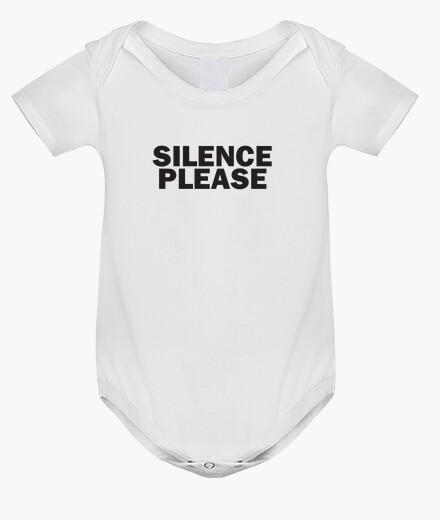 Abbigliamento bambino silenzio per favore
