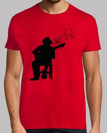 silhouette chitarrista fla men co not c