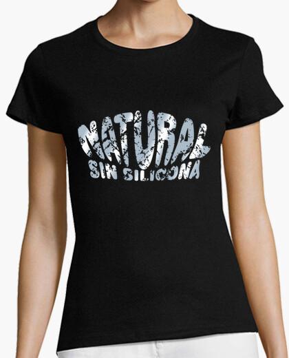 Tee-shirt silicone naturel (métallique)