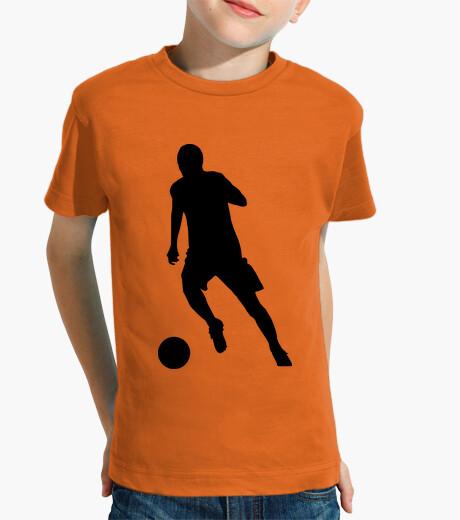 Ropa infantil Silieta futbolista / futbol