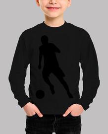 Silieta futbolista / futbol