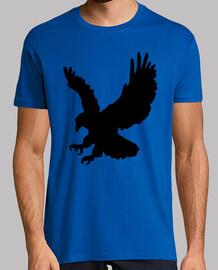 Silueta águila