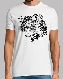 Silueta Sombra Leopardo Negro