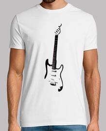Siluetas Guitarra Electrica Mastil cuer