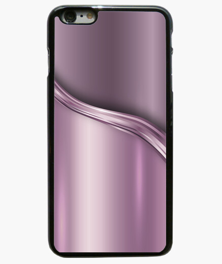 Silver Rose Background Iphone 6 Plus Case
