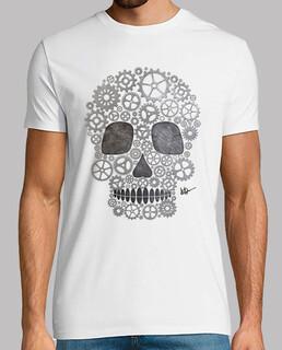 Silver skull steampunk !!!