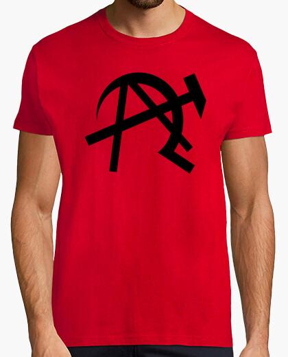 Camiseta Símbolo anarco-comunismo