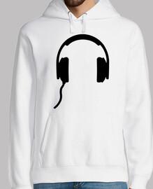 símbolo de auriculares