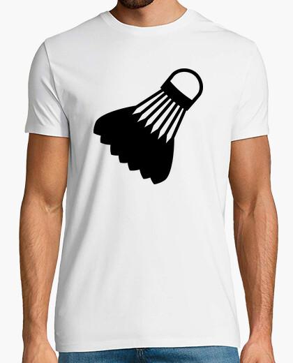 Camiseta símbolo de bádminton