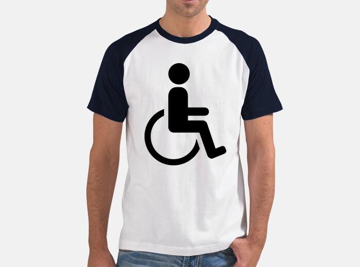 Camiseta Símbolo De La Silla De Ruedas