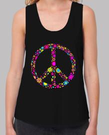 Símbolo floreado de la Paz