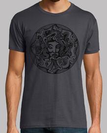 Simbolo Medusa en Negro