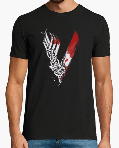 Camiseta símbolo vikingo