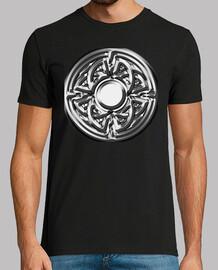 Símbolo vikingo de plata