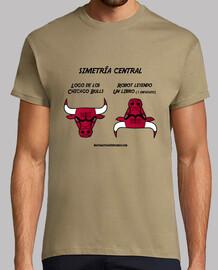 Simetría central Chicago Bulls